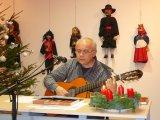 Vnoční posezení se spisovatelem, knězem, panem Aloisem Sassmannem 11.12.2014