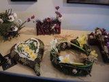 10.3.2015 Prodejní výstava jarních a velikonočních dekorací paní Věry Brabcové a jejího květinářství Zelený domov