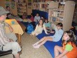 4.6.-5.6.2016 Noc s dětmi v knihovně