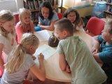 Noc s dětmi v knihovně 6.6-7.6.2015